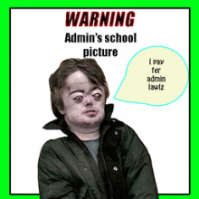 I pay for admin