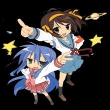 Konata + Suzumiya haruhi