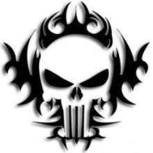 A Skull with Shadow [punisher]