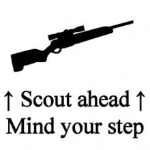 Scout ahead Transparent Ver.