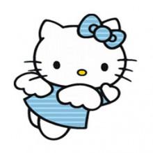 Hello Kitty Angel-Transparent