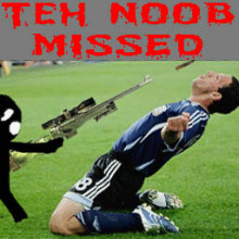 Teh Noob Missed (Transparent)