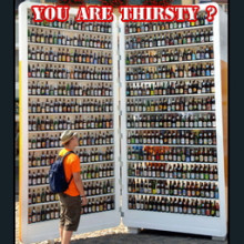 You are thirsty?