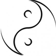 YinYang Outline (Transparent)