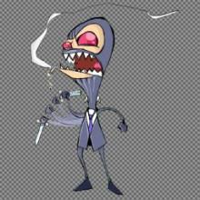 Invader Zim as a Spy