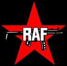 raf gun logo