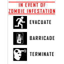 IN EVENT OF ZOMBIE INFESTATION