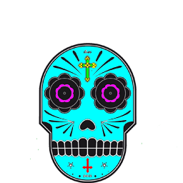 calavera spray (transparent) Spray preview