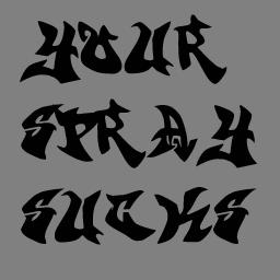 Your Spray Sucks (transparent)