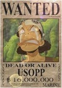 Wanted Usop Spray preview