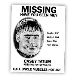 Casey Tatum is missing