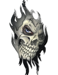 Scary Skull Look