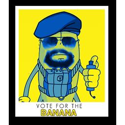 Vote for banana