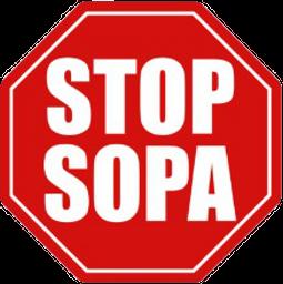 Stop SOPA! Spray preview