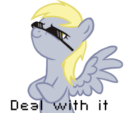 Derpy Hooves: Deal With It Spray preview