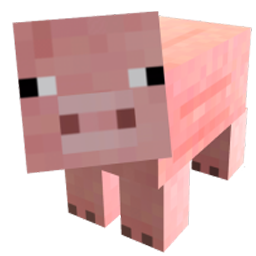 Minecraft Pig Spray preview