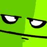 Simple Bored Face Logo Spray preview