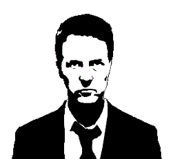 Edward Norton from Fight Club