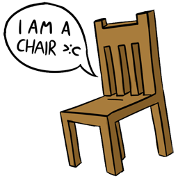 I AM A CHAIR! Spray preview
