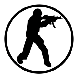 Counter strike logo Gone crazy
