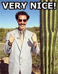 Funny Borat Spray preview