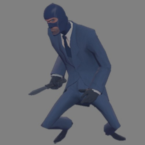 fade spy blu Spray screenshot #1