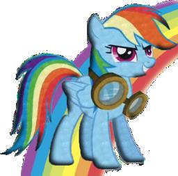 Rainbow Dash [Transparent]