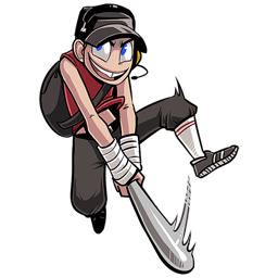 TF2 [cartoon Character Scout]
