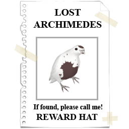 LOST ARCHIMEDES!