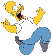 Homer Simpson Spray Pack Spray preview