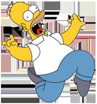 Homer Simpson Spray Pack