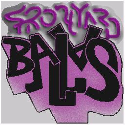 Frontyard Ballas Logo Spray preview