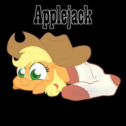 Applejack In A Sock