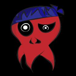 Illustrated Skull