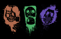 Gas Mask Pack (Logos) Spray preview