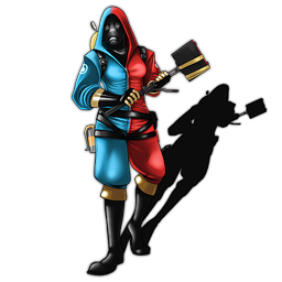 Female Pyro (Blue & Red version)