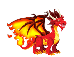 Dragon City Flame Dragon preview