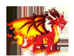 Dragon City Flame Dragon
