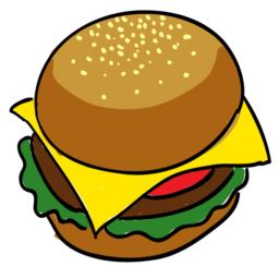 Burger ( Cartoon ) Spray preview