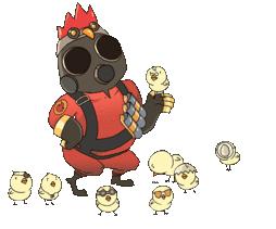 Chicken Pyro