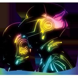 Daft Punk neon