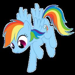Rainbow Dash Lounging Around Spray preview