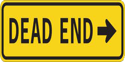 Dead End Sign Spray preview