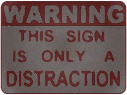 Distraction Sign v2