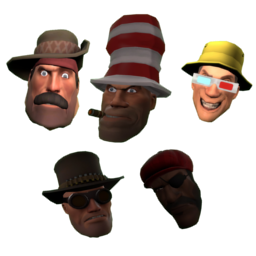 TF2 Class Faces Spray Pack