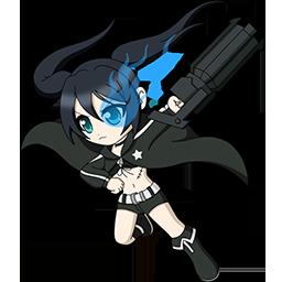 Black Rock Shooter Chibi Spray preview
