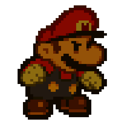 Paper Mario Anger's Power Animtated Spray
