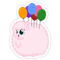 Fluffle Puff Sticker Pack vol. 1
