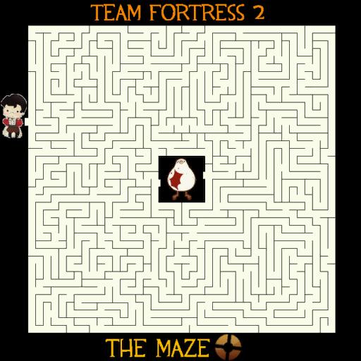 TF2 The Maze! Spray (HQ)