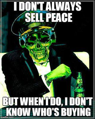 I don't always sell peace... Spray preview